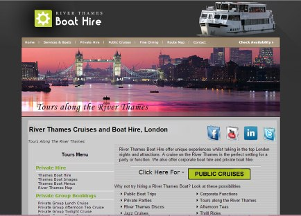 River Thames Boat Hire